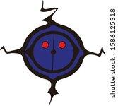 the blue robot head vector   Shutterstock .eps vector #1586125318