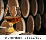 Glass Of Brandy In The Cellar...