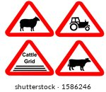 Countryside Hazard Signs