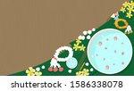thai water festival songkran... | Shutterstock .eps vector #1586338078