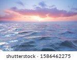 Sunset On The Atlantic Ocean....