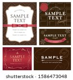 chocolate color valentine's...   Shutterstock .eps vector #1586473048
