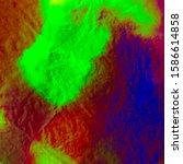 Mint Neon Tie Dye Gradient. Lime Hippie Background. Green Extraterrestrial Rasta Brush. Red Extraterrestrial Watercolor Grunge. Watercolor Psychedelic Splash. Psychedelic Texture.