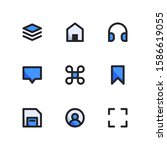 user interface icon set   layer ...