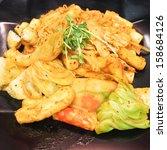 korean delicious food   stir...