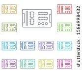 hardware  mainboard multi color ...