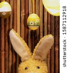 Stuffed Easter Bunny And...