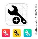 repair icon. vector... | Shutterstock .eps vector #158722145