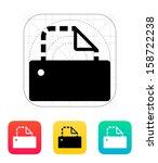 printer icon. vector...