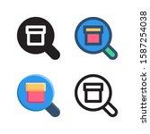 search logo icon design in four ...
