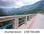 montenegro . the highest bridge ... | Shutterstock . vector #158736188