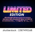 limited edition banner  modern... | Shutterstock .eps vector #1587490168