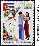 cuba   circa 2005  a stamp... | Shutterstock . vector #158752466
