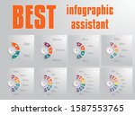 templates infographic for text... | Shutterstock .eps vector #1587553765