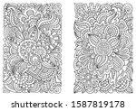 Coloring Book Page For Adults ...