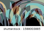 colorful abstract background... | Shutterstock . vector #1588003885