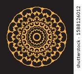 set of mandalas for element of... | Shutterstock .eps vector #1588126012