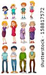 adults,background,boys,brother,cane,cartoon,children,clip-art,clipart,daughter,drawing,eyeglass,family,father,female