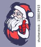 santa | Shutterstock .eps vector #158819915