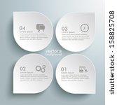 infographic design white...   Shutterstock .eps vector #158825708