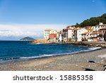 view of marciana marina  isle...   Shutterstock . vector #15885358