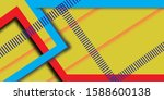 background abstract color with... | Shutterstock . vector #1588600138