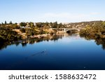 Blue Water And Sky Lake Natoma...