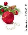 christmas decorations | Shutterstock . vector #158869172