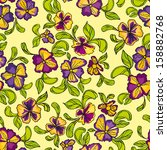seamless pattern of... | Shutterstock .eps vector #158882768