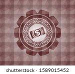 money  dollar bill icon inside... | Shutterstock .eps vector #1589015452