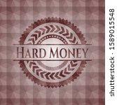 hard money red seamless emblem... | Shutterstock .eps vector #1589015548