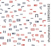 seamless vector pattern with... | Shutterstock .eps vector #1589054182