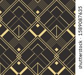 vector modern geometric tiles... | Shutterstock .eps vector #1589087635