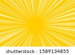 yellow background ray pop art... | Shutterstock . vector #1589134855