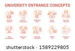 university entrance concept...   Shutterstock .eps vector #1589229805