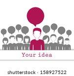 communication and social media... | Shutterstock .eps vector #158927522