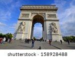paris  france october 12  the...   Shutterstock . vector #158928488
