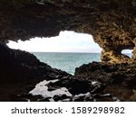 Animal Flower Cave  Barbados  ...