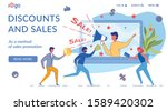 discounts and sales landing...