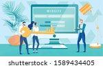 website security and user...   Shutterstock .eps vector #1589434405