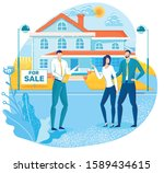buying house  real estate... | Shutterstock .eps vector #1589434615