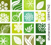 nature icons | Shutterstock .eps vector #158947742
