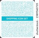 shopping and e commerce vector... | Shutterstock .eps vector #1589560735