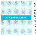 database and network vector... | Shutterstock .eps vector #1589561635