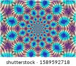 colorful digital graphic...   Shutterstock . vector #1589592718