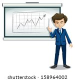 illustration of a man... | Shutterstock .eps vector #158964002