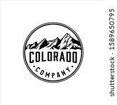 Flatirons Mountains Colorado...