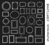 frame hand drawn collection.... | Shutterstock .eps vector #1589712448
