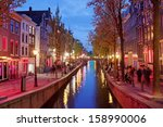 Amsterdam Red Light District...