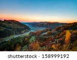 Idyllic Autumn Scenery With...